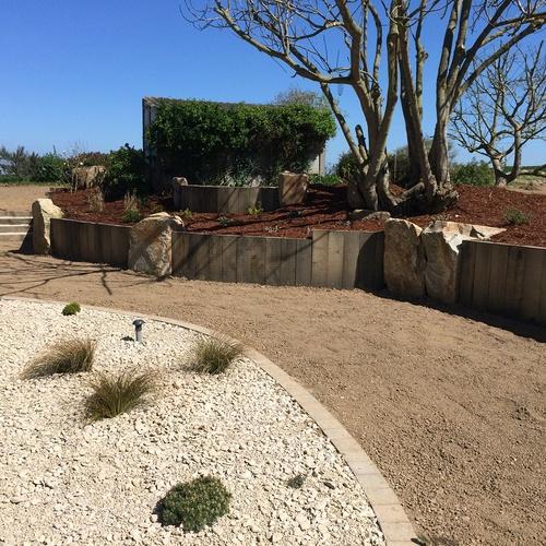 Aménagement de la cours et du jardin - Plérin (22)