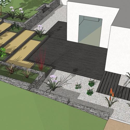 Aménager un jardin avec dénivelé à Plérin