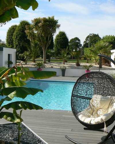 Création piscine, terrasses et clôtures à St-Cast Le Guildo