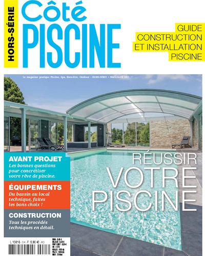 Presse Paysage : reportage du magazine Côté Piscine