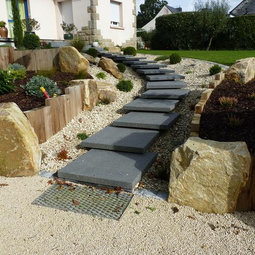 Réaménagement du jardin - PLEDRAN