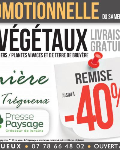 Semaine promotionnelle chez Presse Paysage à Trégueux
