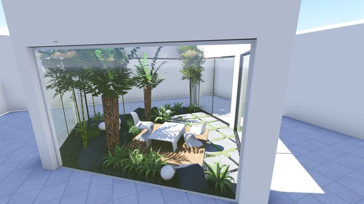 Plan 3D d''un patio patio7