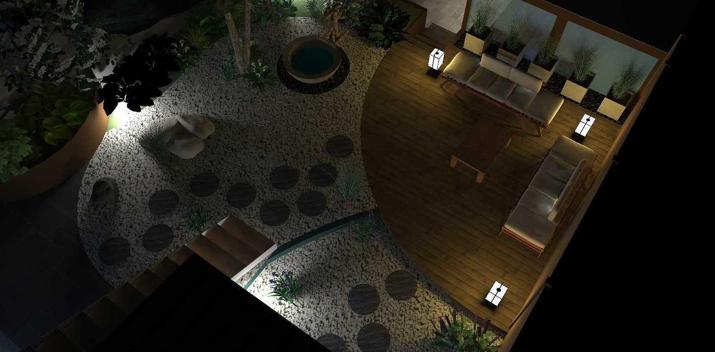 Transformer un petit jardin de ville encaissé en jardin d'inspiration japonaise. – SAINT-BRIEUC coursin6