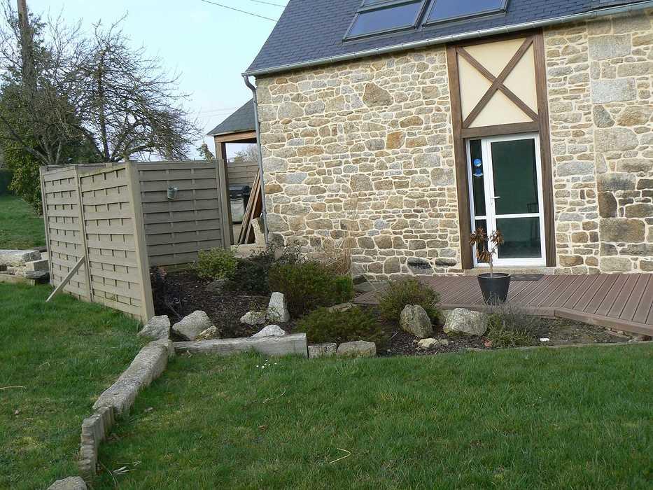 Réaménagement de la terrasse en intégrant un Spa - Hénon p1070639