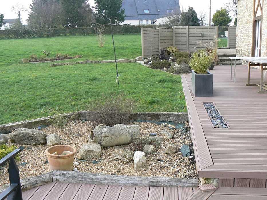Réaménagement de la terrasse en intégrant un Spa - Hénon p1070643