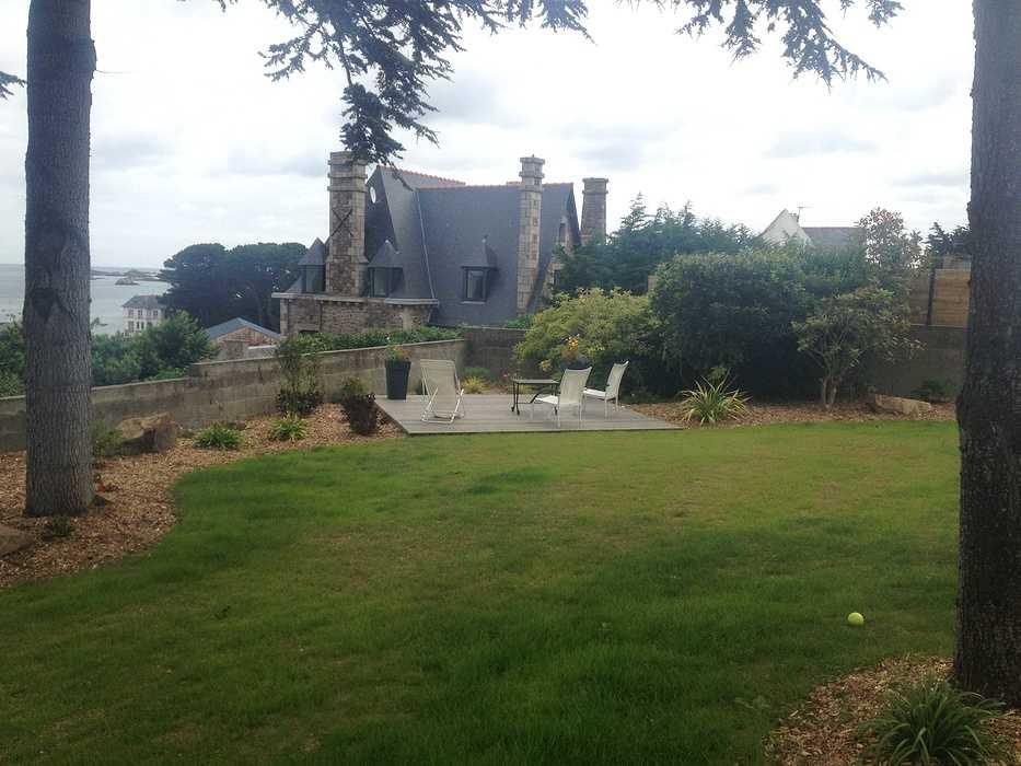 Rénovation du jardin en vue mer avec terrasse - LOGUIVY img1865
