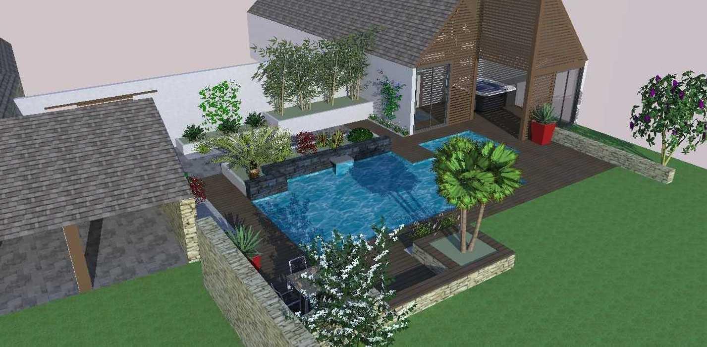 Intégration de la piscine p3