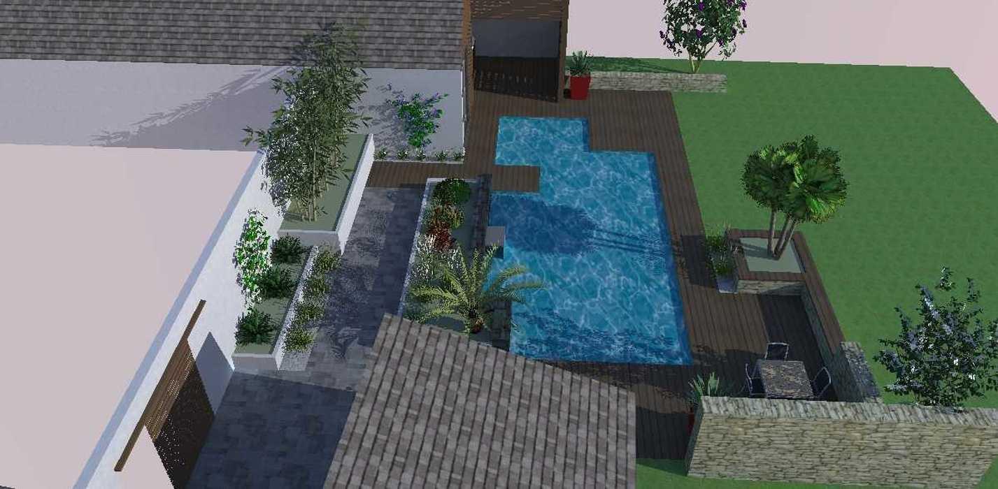 Intégration de la piscine p4
