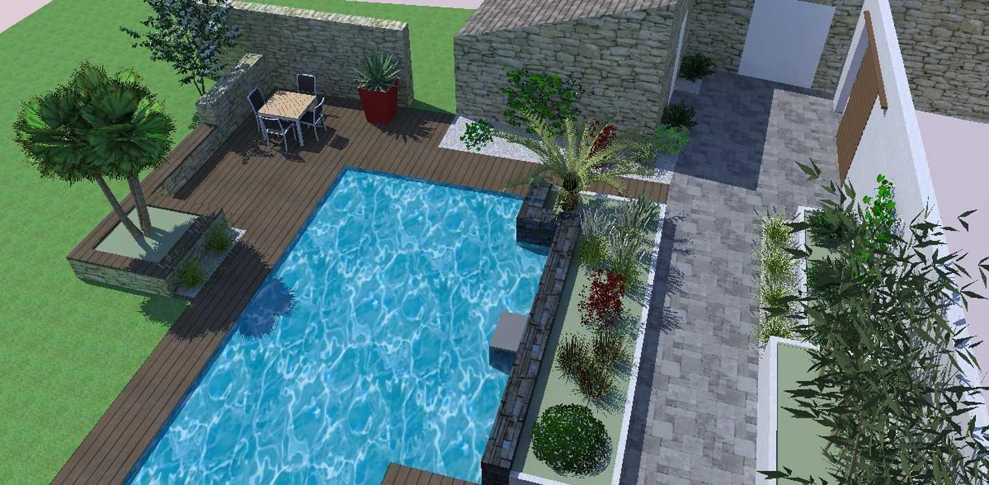 Intégration de la piscine 0
