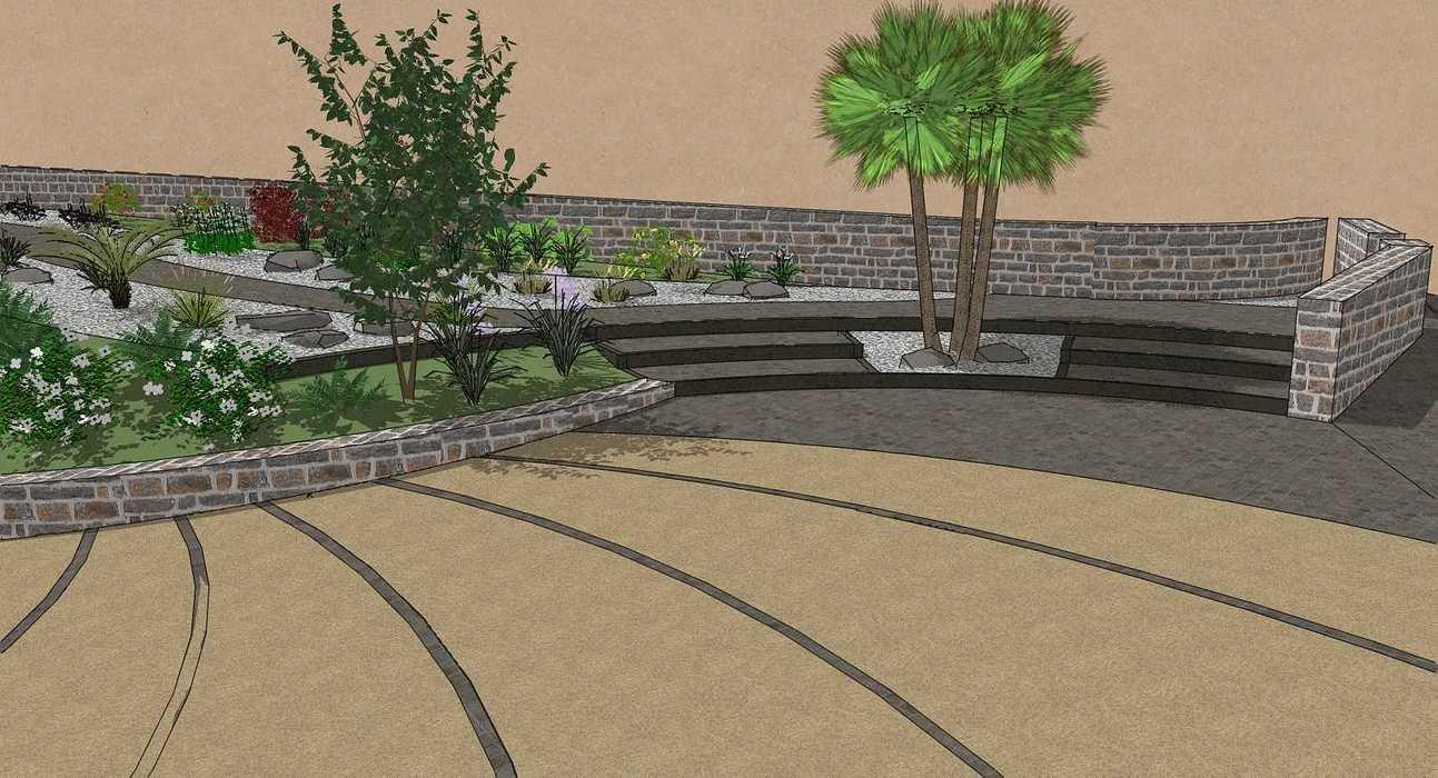 Moderniser la cour et l''accueil berric3d9