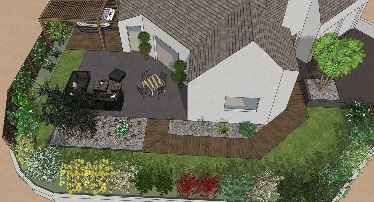 Supérieur Amenagement Jardin Maison Neuve #13: Idee-amenagement ...